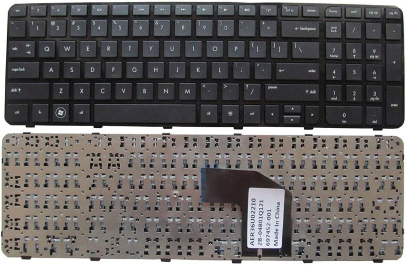 KEYSHEN Laptop Notebook Replacement Keyboard For HP G6-2000 2025 2301 2327 2328 2146TX US Layout