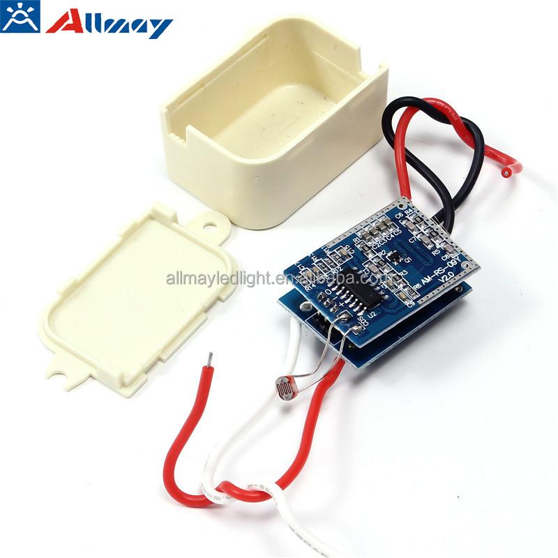 Manufacturer  DC12V 24V Load 5-35W Auto-controlOn Off Microwave Sensor Switch for 12V 24V Strip Light