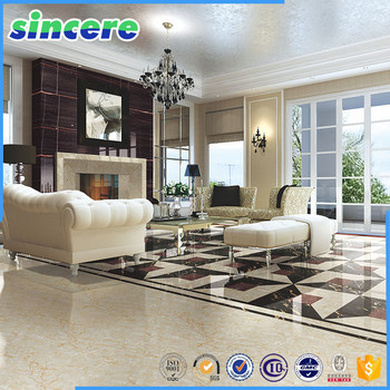 Marble floor tile for living room patterns names of white for Carrelage pour salon