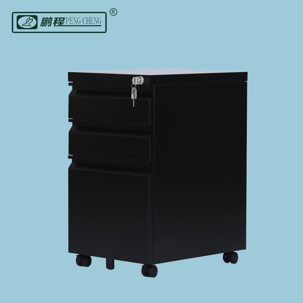 Wholesale Cheap Mobile 3 Drawer Lockable Staples Filing Cabinet