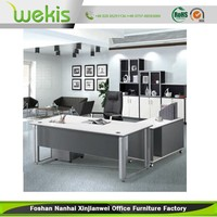 Factory Supplied Vintage Style Cheap Modular Executive Office Table Furniture