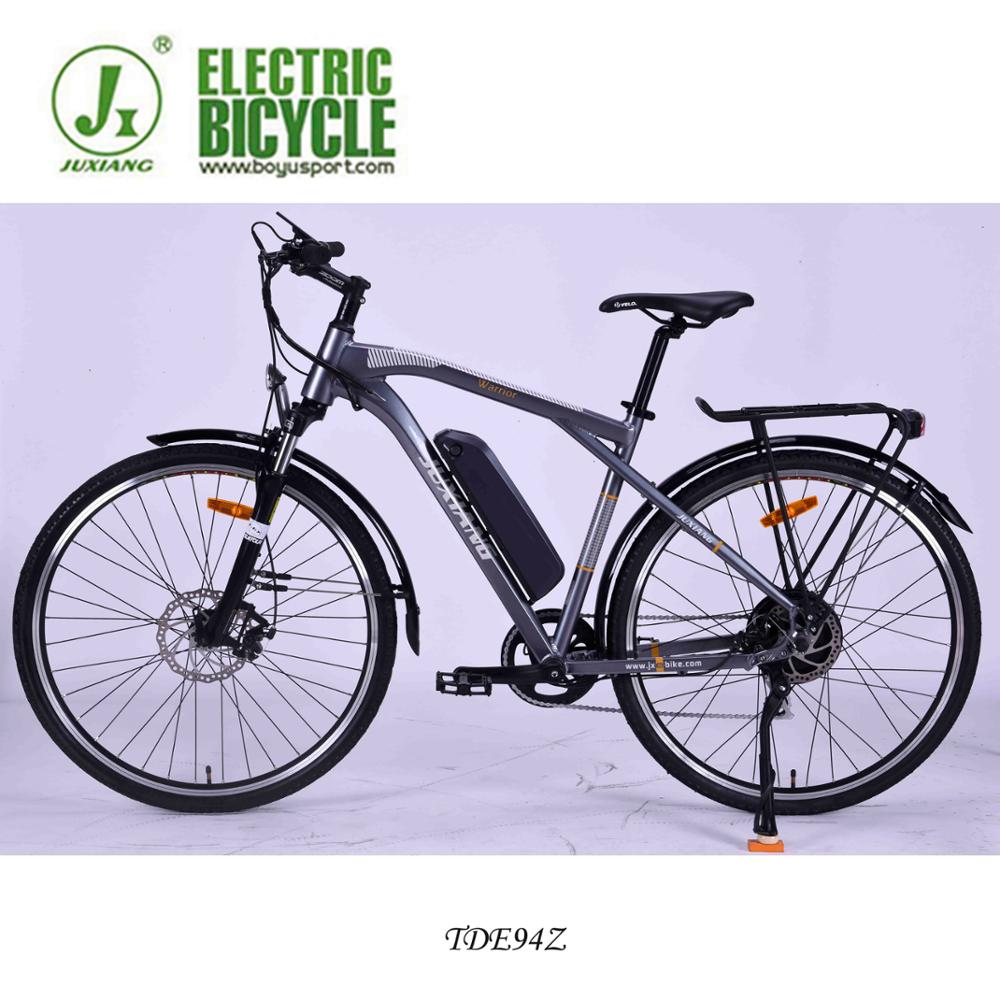 juxiang factory directly sale bikes mountain bicycle use famous brand deraillure and LED light parts