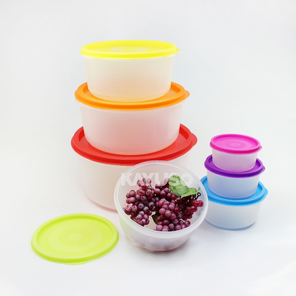 Food Grade PP Microwave Safe Plastic Food Storage Container