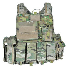 Military PE and Kevlar bulletproof vest, Quick release system