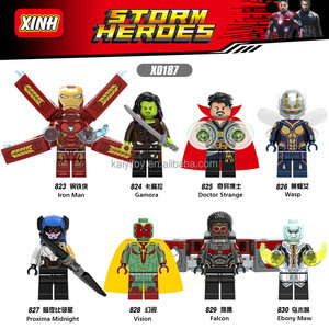 Super heroes Infinity War Minifigs Ironman Fa Collection Building Blocks Bricks Gift Toys For Children