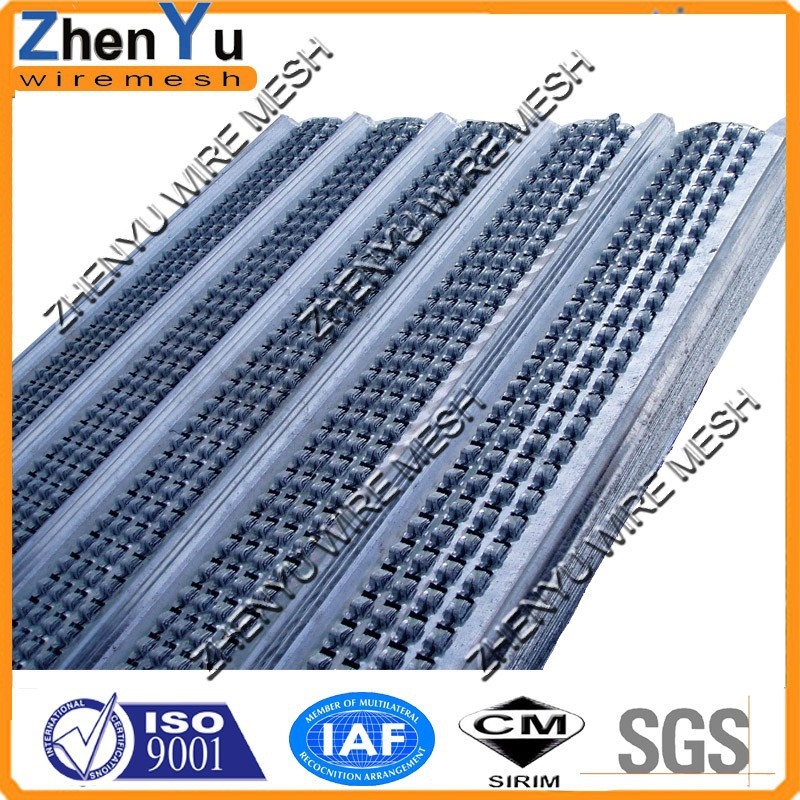 450mm Hot dipped galvanized steel fast ribbed concrete formwork for building formwork concrete and column(Manufacturer 1998)