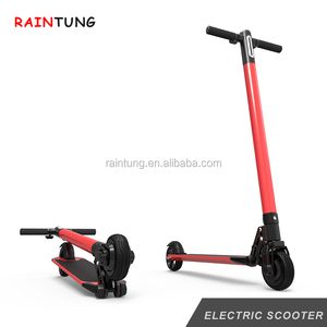 Pink Color 24V 250W Powerful 25km h electric scooter