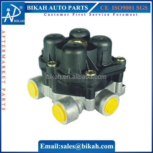 OEM# 9347144030 81521516093 AE4603 WG:9000360523 FOUR-CIRCUIT PROTECTION VALVE FOR MAN VOLVO HOWO TRUCK PARTS