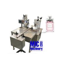 Micmachinery MIC-PF30 Full Automatic Perfume making machine/ Men lasting perfume filling and capping machine