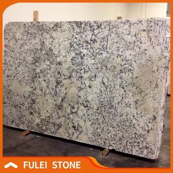 Beautiful White Brazilian Granite Colors White Ice Blue Granite Slab