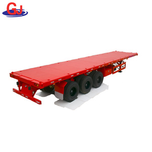 Cheap Price High quality Flatbed Semi Trailer Use in Africa