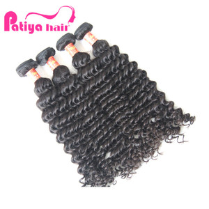hot black super star Michael jackson deep wave hair extensions for sale cuticle aligned raw virgin hair