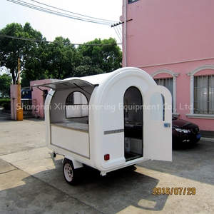 commercial outdoor hot dog carts trailer for sale XR-FC250 D