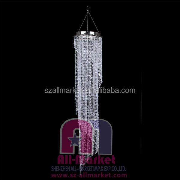 Hot sale high quality diamonds spiral modern crystal chandelier AM193L