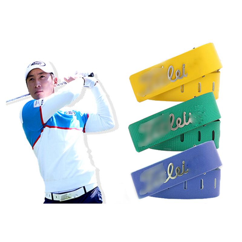 Compra mens cinturones de golf online al por mayor de