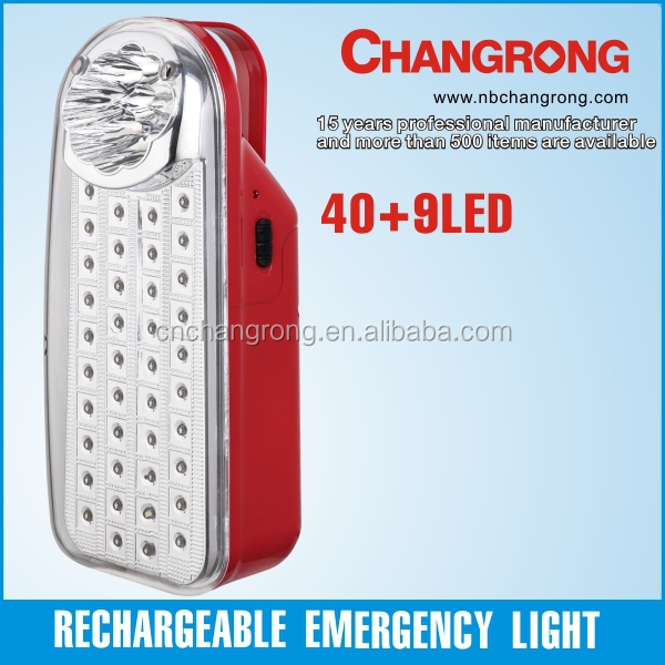 Portable lantern rechargeable LED emergency light