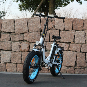 Eco-Friendly 48V 500W fat electric bike Tyres 36v full suspension