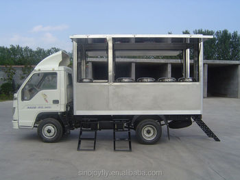 Fast Food Mobile Kitchen Trailer/hot-selling Indoor Mobile Fast Food ...
