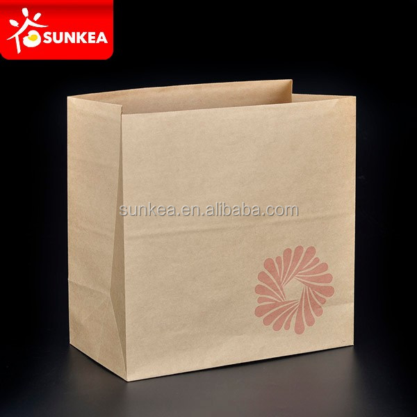 Custom paper bags for restaurants