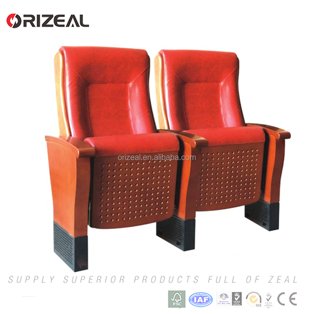Wooden structure Auditorium Multiuser Chairs home theatre seating for sale Prices cut in half