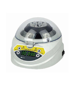 BIOBASE Newest 0.2/0.5/1.5ml laboratory hand mini micro high speed centrifuge with timing function