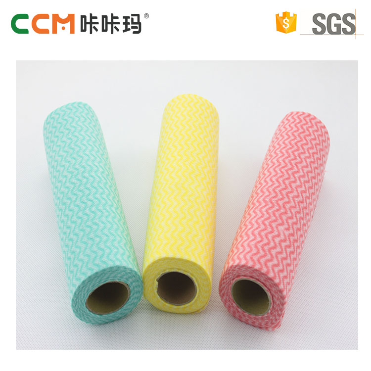 China manufacturer disposable spunlace customized high absorbant nonwoven fabric cleaning cloth