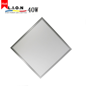 New design super slim office decoration lamp hanging 600x600 led panel ceiling light 40w price