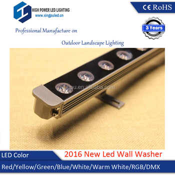 EMC LVD Approved DC12V 24W led mini wall washer IP67