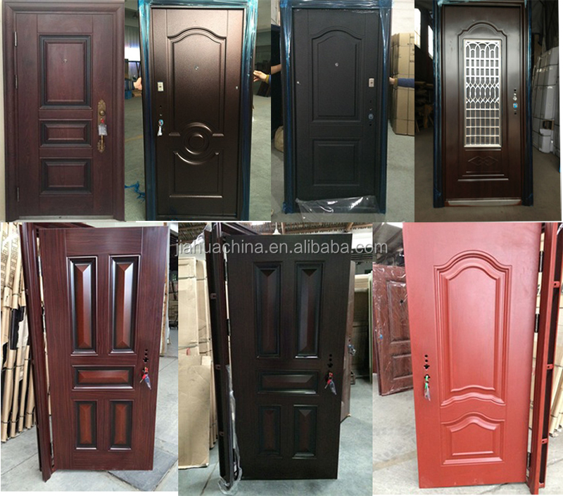 Egypt market popular door design iron single doors design for New house door design