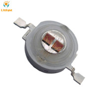 For led grow light Emitting Diode UV 405nm 420nm, Photo Red 650nm to 665nm Bridgelux Epileds High Power 5W 660nm LED Chip