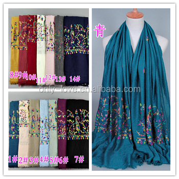 ffc4f37376b Wholesale Cotton Embroidery Hijab Shawls Muslim Scarves/scarf Gbs184 - Buy  Cotton Hijab Shawls,Muslim Scarves/scarf,Hijab Long Shawl Product on ...