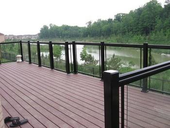 Aluminum Tempered Glass Railing/aluminum Balcony/stair Railing ...