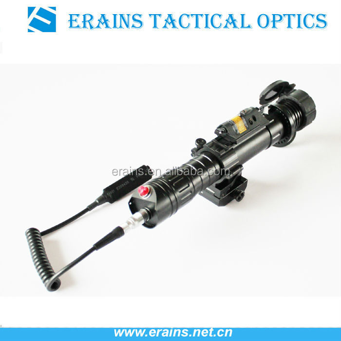 Subzero Zoomable 50mw Night Vision Weapon Sight Of Green Laser ...