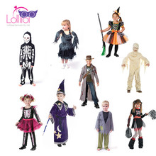 Carnival role play children costume cosplay zombie costume best Halloween costumes for kids