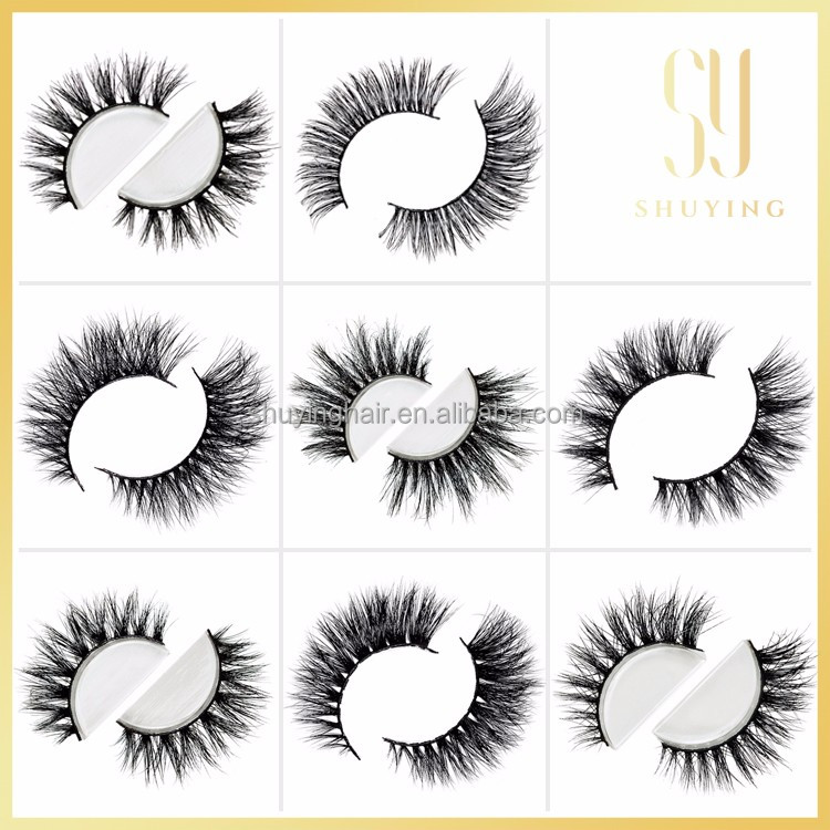 3D Lashes Siberian Mink Eyelashes (For Lilly lashes) 2016 Hot Selling false eyelashes 3D Mink Lashes