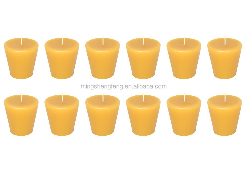 Chinese Manufacturer Bulk Organic Purified Bee Wax Candle With FDA Certificate