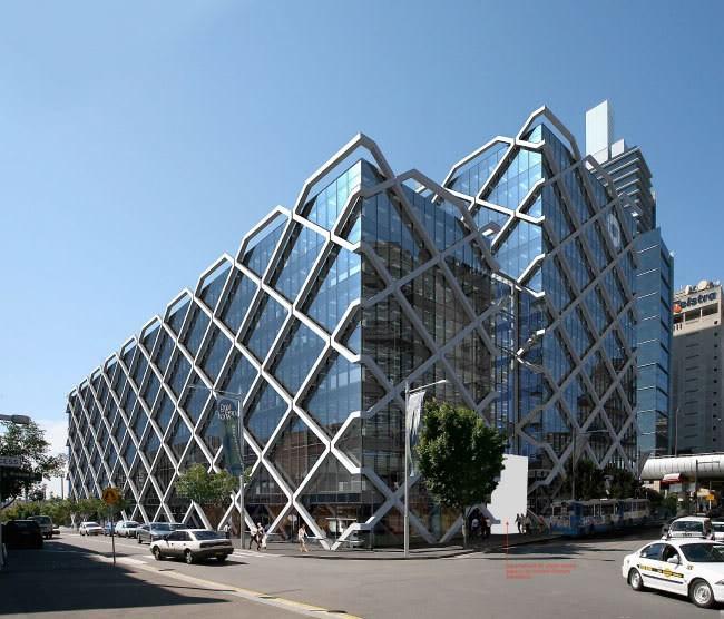 Alta Calidad Prefabricados Diagrid Sistema Estructural