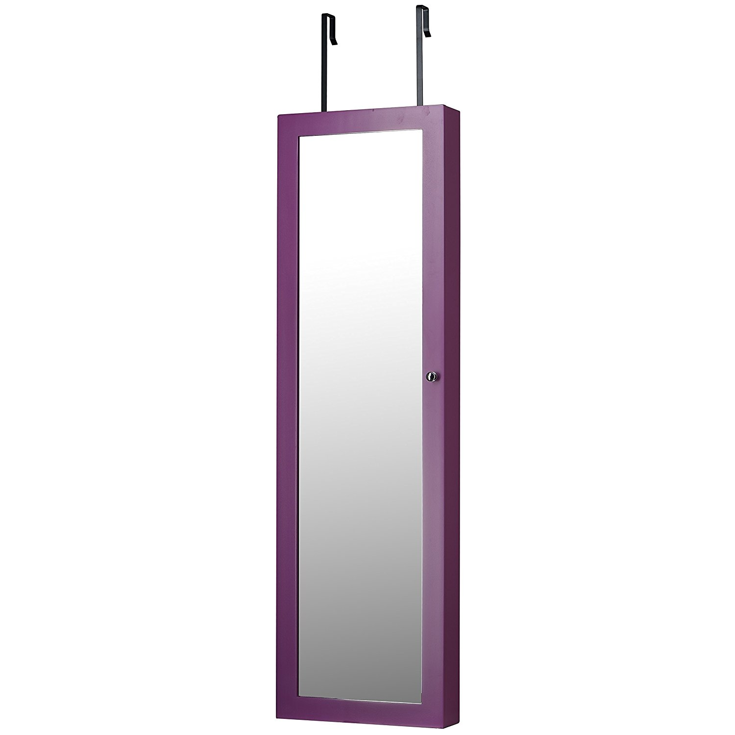 InnerSpace Luxury Products Jewelry Armoire   Purple