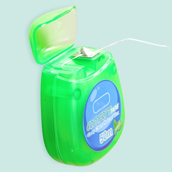 50 m Mint Waxed Dental Floss FDA goedgekeurd