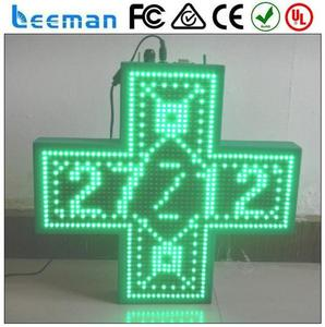 full color outdoor display video led outdoor led billboard light led green cross sign