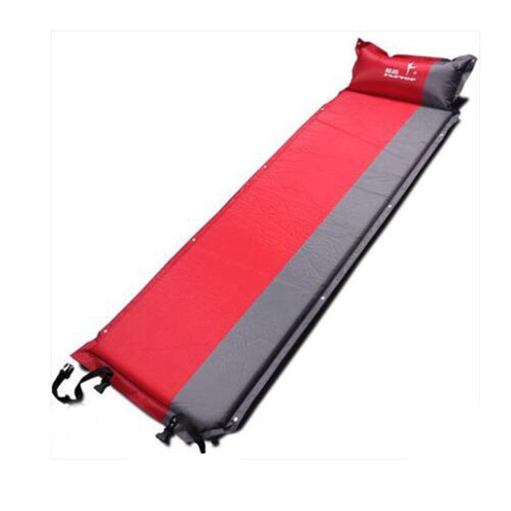 SHDIOU Thick 5CM Outdoor Camping Mat Air Automatic Inflatable Mattress Beach Mat Seat Foam Waterproof Can Be Spliced Camping Mattres