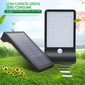Wall Outdoor Led Gardens Lamp Wall Mounted Infrared Solar Bedside Lamps