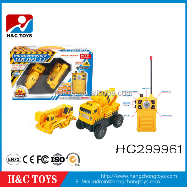 Remote control removable truck set 1:32scale 4ch rc toy car HC299961