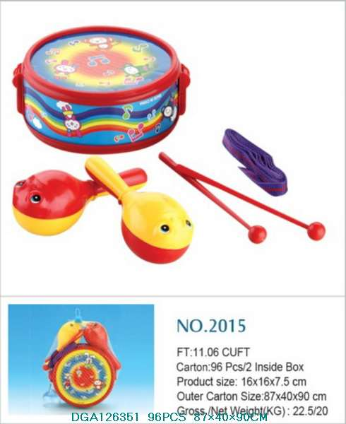hot selling musical instrument waist drum toys
