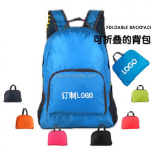Custom Outdoor durable Nylon Lightweight Waterpoof Foldable Backpack bag