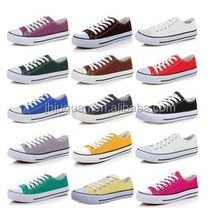 2016 classic low top lace up canvas shoes brand for men