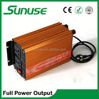 dc 12v ac 220v 1000W solar inverter with built in charge controller 4w with charger/power inverter/home inverter