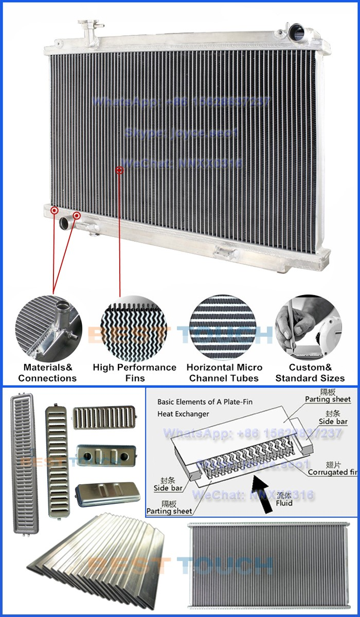 HZJ75 75 SERIES UTES/HZJ75 78 SERIES TROOPIE custom heating radiator for LANDCRUISER