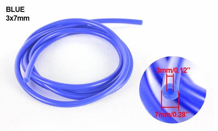 "3mm 1//8/"" Vacuum Silicone  Hose 10 Feet Blue Air Racing Pipe//Line//Tube"