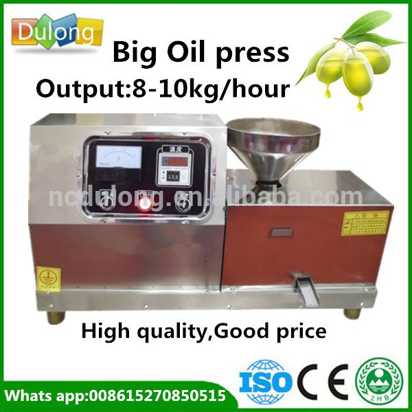 New Arrival Cold Press Oil Machine For Peanut Oil DL-ZYJ09